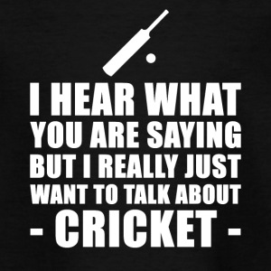 Grappig Cricket Cadeau Idee - Teenager T-shirt