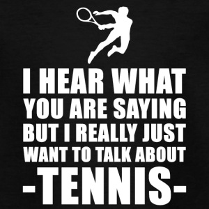 Grappig Tenniscoach Cadeau Idee - Teenager T-shirt