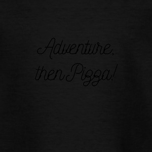 Adventure Pizza - Teenage T-shirt