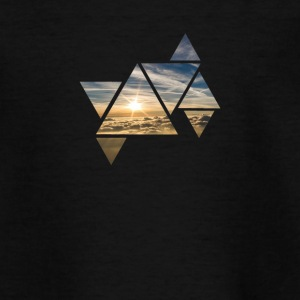 Triangle Sky - Teenager T-Shirt