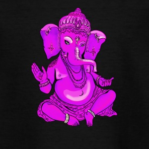 ganesha pink yoga Hindu india Elefant Gott Namaste - Teenager T-Shirt