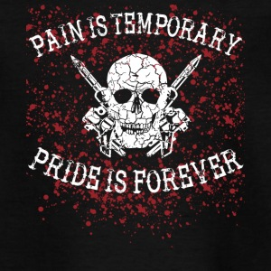 Pain is temporary tattoo tätowiert needle nadel - Teenager T-Shirt