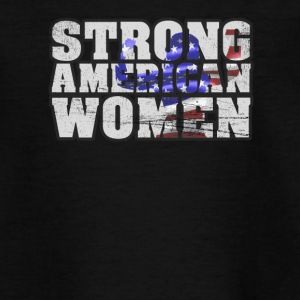 Strong American Women - Teenager T-Shirt