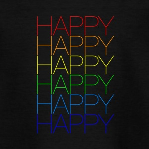 Happy 2 - Teenager T-Shirt