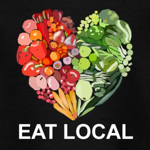 Eat local - Teenager T-Shirt