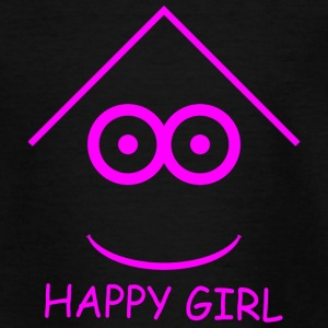 Happy Girl - Teenager T-Shirt