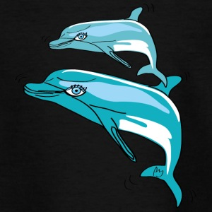 Dauphins, Illustration - T-shirt Ado