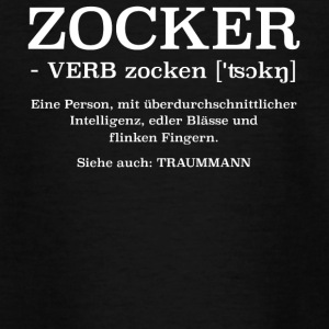 Zocker ein Traummann Definition - Teenager T-Shirt