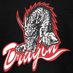 dragon mosnter 13 - Teenager T-shirt