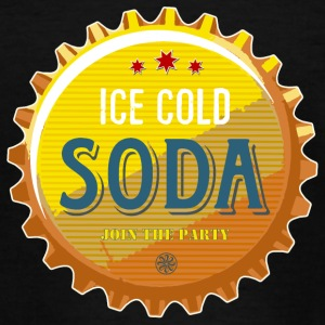 ice cold soda water beer beer party summer Cola - Teenage T-shirt