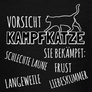 Attention Kampfkatze - T-shirt Ado