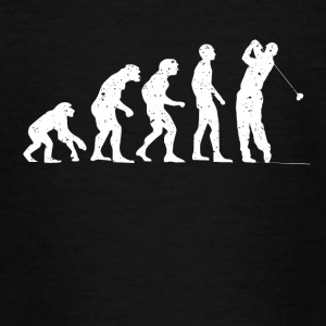 Evolution golf! - Teenager-T-shirt