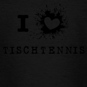 iLove table tennis - T-shirt tonåring