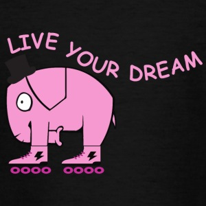 Live your dream elephant - Teenager T-Shirt