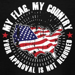 My flag, my country! USA Proud! - Teenage T-shirt