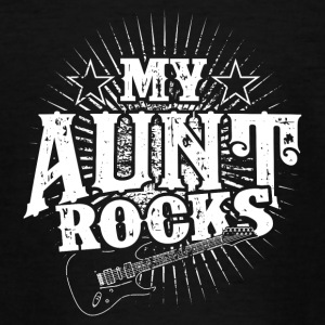 My aunt is rocking! Aunt! Birth - gift - Teenage T-shirt