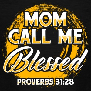 Mom Blessed! Children! Mum! Mother - Teenage T-shirt