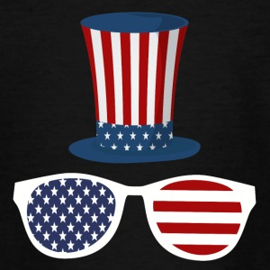 UncleSam American Hat Sonnenbrille - Teenager T-Shirt