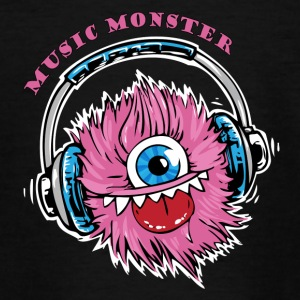Monster - DJ - Party - T-shirt Ado