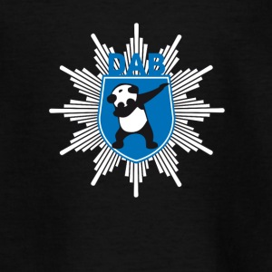 dab wappen festival panda dabbing Polizei Party lo - Teenager T-Shirt