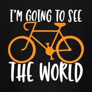 I'm going to see the world - Teenage T-shirt