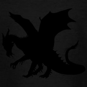 dragon noir - T-shirt Ado