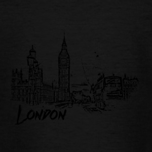 London Cityscape schets - Teenager T-shirt