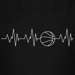 Heartbeat Basketball - Teenager T-Shirt