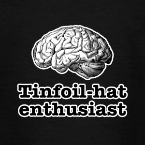Tinfoil-hat entusiast - Teenager-T-shirt