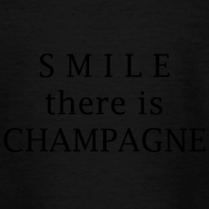 smile champagne - Teenager T-Shirt