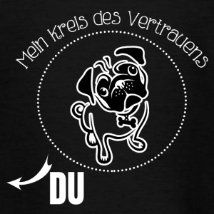 Mops hund - Teenager T-Shirt