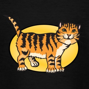 Löwe Tiger Leopard Raubtier - Teenager T-Shirt