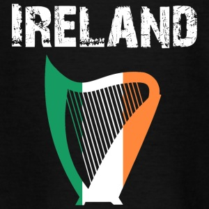 Nation-Design Ireland Harp - Teenager T-Shirt