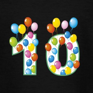 Tenth birthday - Teenage T-shirt