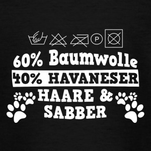 60% bomuld 40% Havaneser - Teenager-T-shirt