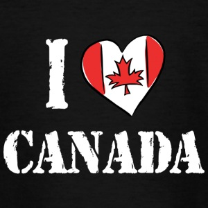I Love Canada - Teenage T-shirt