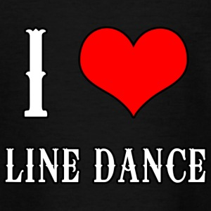 I Love Line Dance - Teenager T-Shirt