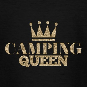 Udendørs · Camping · Camping dronning - Teenager-T-shirt