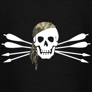 Pirate of archery - Skull and arrows - Teenage T-shirt