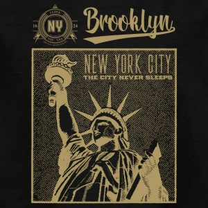 New York · Brooklyn - T-skjorte for tenåringer