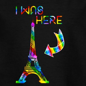 eiffel - I was here - Teenage T-shirt