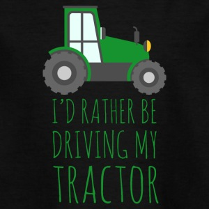 Farmer / Farmer / Farmer: I'd rather be driving - Teenage T-shirt