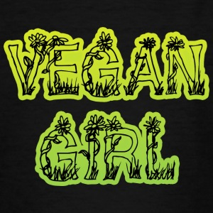 Vegan Girl - T-shirt Ado