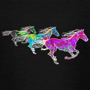 3 horses - Teenage T-shirt