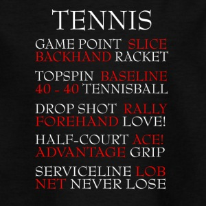 Tennis - Teenager T-Shirt