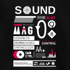 sound control - Teenager T-shirt