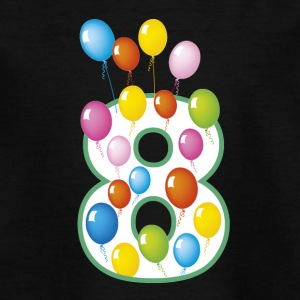 Eighth birthday 8 years - Teenage T-shirt
