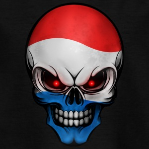 Skull Nederland Allround design - T-skjorte for tenåringer