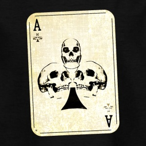 Ace of skulls - Teenage T-shirt