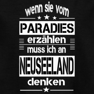 Paradies NEUSEELAND - Teenager T-Shirt